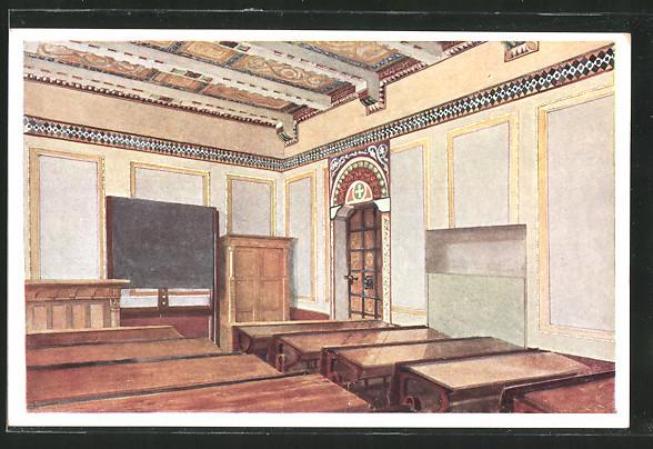 AK Berndorf, Schule, Lehrzimmer im byzantinischen Stil