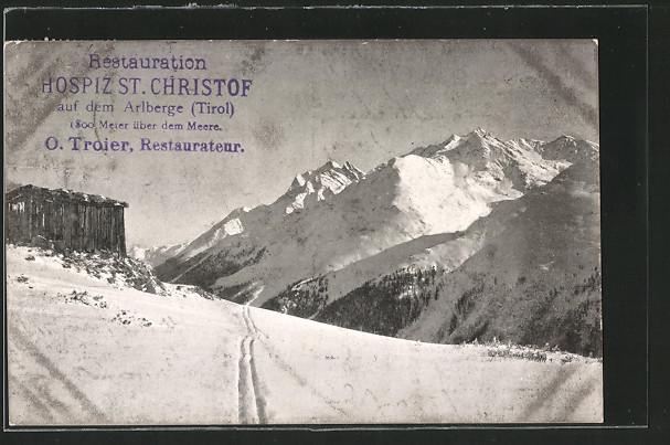 AK St. Anton a. Arlberg, Arlberg im Winter