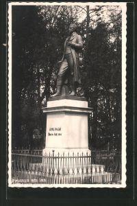 AK Braunau a. Inn, Denkmal J. Ph. Palm