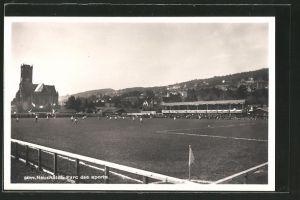 AK Neuchâtel, le parc des sport lors d\'un match