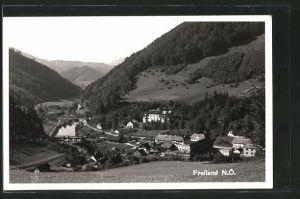 AK Freiland, Ortspanorama