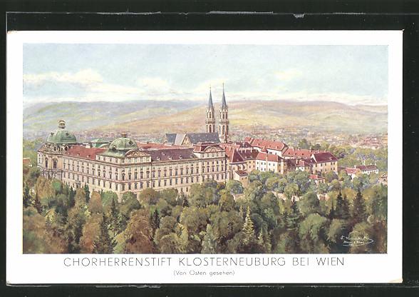 AK Klosterneuburg, Chorherrenstift von Osten
