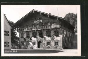 AK Walchsee, Gasthof Walchseerhof, Frontalansicht