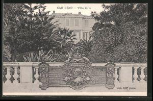 AK San Remo, Villa Zirio