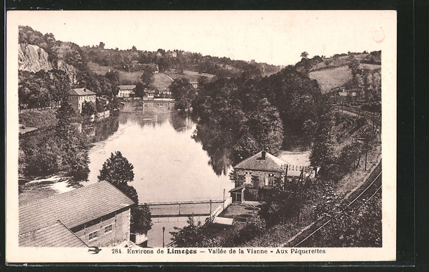 AK Limoges, Vallée de la Vienne, Aux Pâquerettes