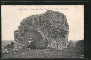 AK Montlhéry, Restes d'une Tour d'enceinte de l'ancien Château fort
