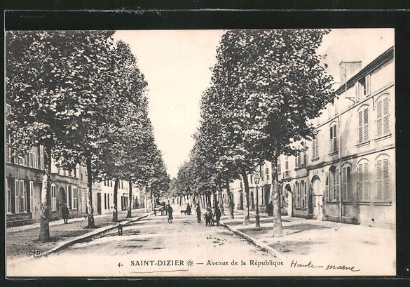 AK Saint-Dizier, Avenue de la République