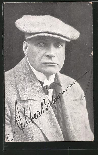 AK Portrait des Schauspielers