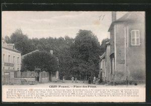 AK Cézy, Place des Fetes