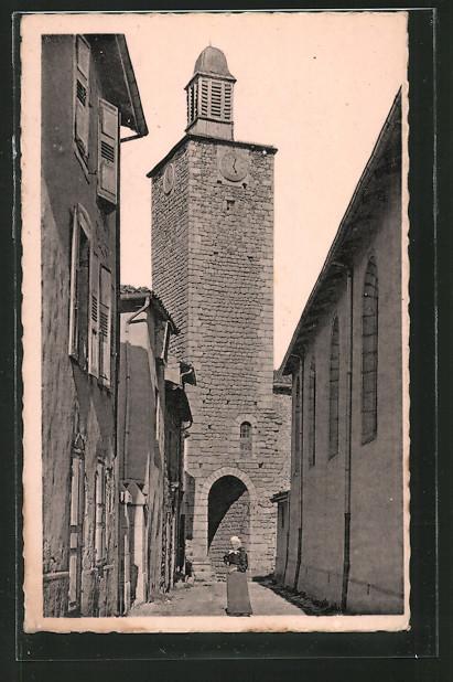 AK Craponne-sur-Arzon, Le Donjon, Dernier reste du Château féodal
