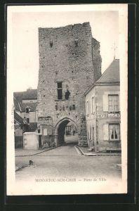 AK Mennetou-sur-Cher, Porte de Ville