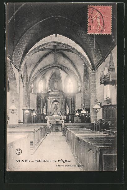 AK Voves, Interieur de l'Eglise