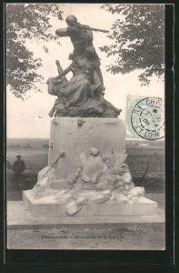 AK Châteaudun, Monument de la Defense
