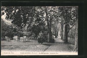 AK Sorel-Moussel, La Malignerie, Entrée du Parc