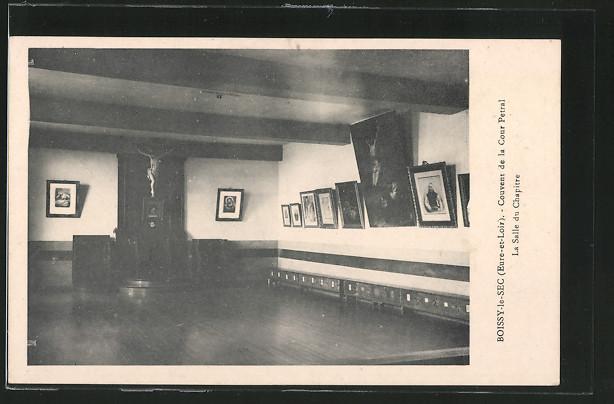 AK Boissy-le-Sec, Couvent de la Cour Petral, La Salle du Chapitre