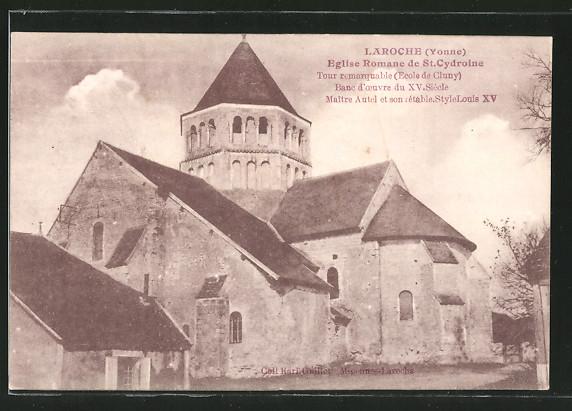 AK Laroche, Eglise Romane de St. Cydroine