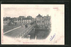 AK Lagny, Rue du Pont de fer