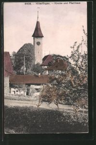 AK Hilterfingen, Kirche und Pfarrhaus