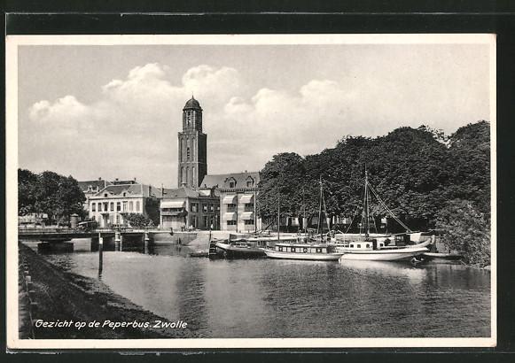 AK Zwolle, Gezicht op de Peperbus