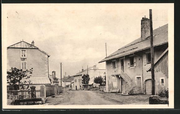 AK Fort-du-Plasne, l'entrée du pays de côté Foncine