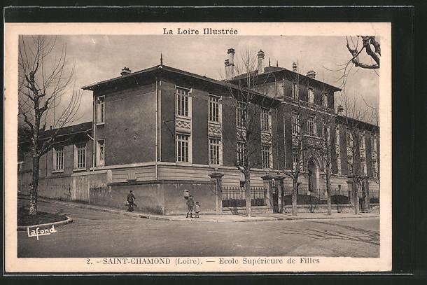 AK Saint-Chamond, Ecole Supérieure de Filles