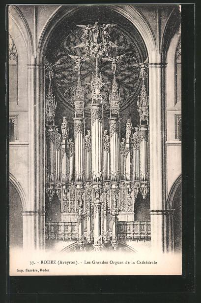 AK Rodez, Les Grandes Orgues de la Cathédrale