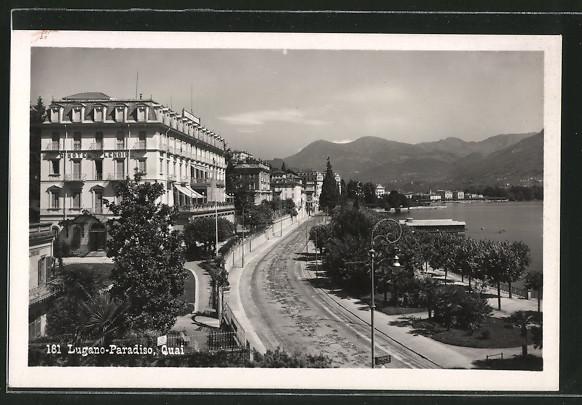 AK Lugano-Paradiso, Quai