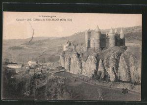 AK Sailhans, Chateau de Sailhans, Cote Est