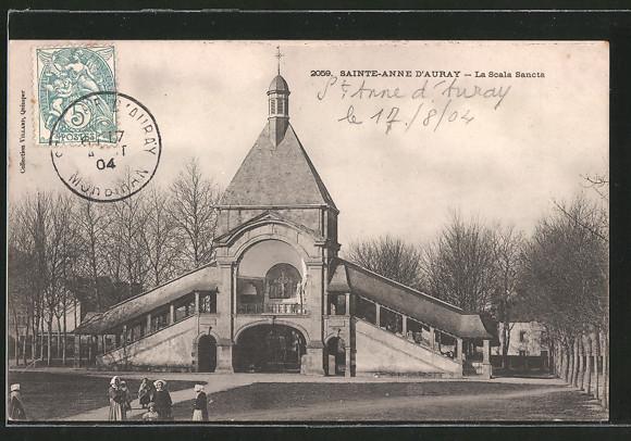 AK Sainte-Anne-d'Auray, la Scala Sancta