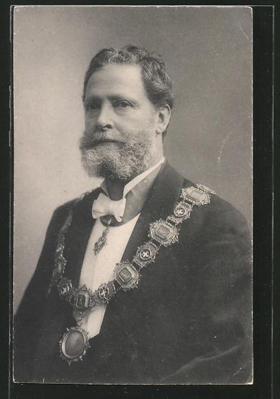 AK Portrait Bürgermeister Dr. Carl Lueger