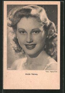 AK Schauspielerin Annie Vernay, Porträt