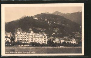 AK Montreux, Hotel und Eden und Kurhaus