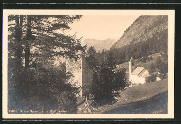 AK Pontresina, Ruine Spaniola