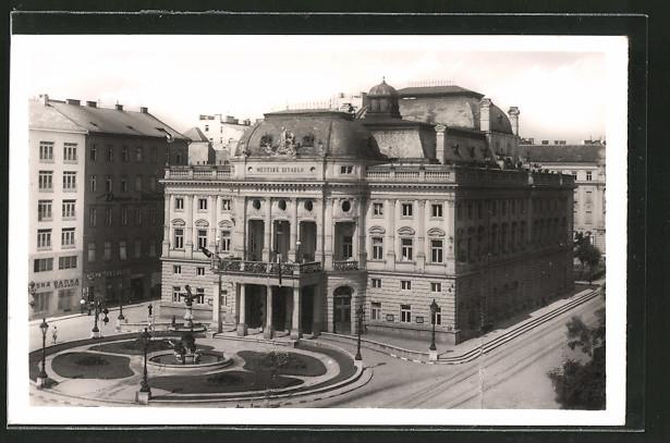 AK Bratislava, Mestske divadlo, Stadttheater