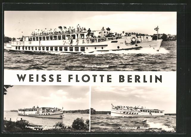 ak fahrgastschiffe weisse flotte berlin schiff heinrich zille zukunft nr 5544975. Black Bedroom Furniture Sets. Home Design Ideas