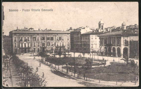 AK Livorno, Piazza Vittorio Emanuele