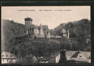 AK Polminhac, le château de Pestel