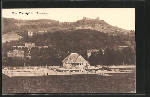 AK Bad Kissingen, Sporthaus mit Tennisplätzen