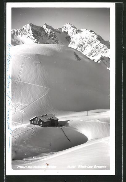 AK Hoch-Krumbach, Teilansicht im Winter