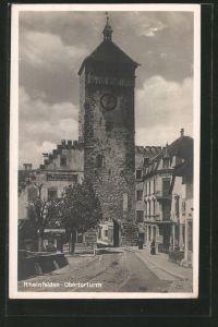 AK Rheinfelden, Blick auf Obertorturm