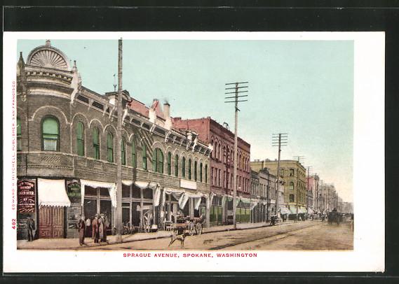 AK Spokane, WA, Sprague Avenue