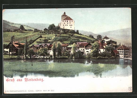 AK Werdenberg, Ortsansicht am See
