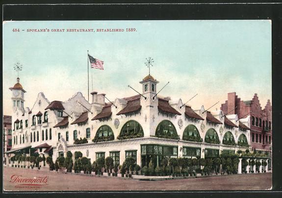 AK Spokane, WA, Davenport, Spokane's Great Restaurant