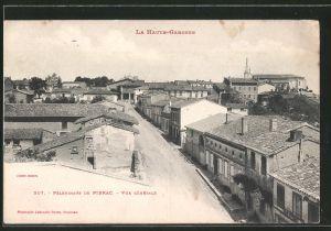 AK Pibrac, pèlerinage de Pibrac, vue générale