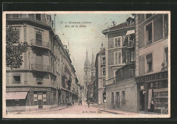 AK Voiron, rue de la Gare