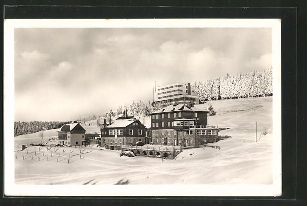 AK Moravskoslezske Beskydy, Turisticky hotel COS, hotel Soluv a utulna u Danku na Bilem Krizi