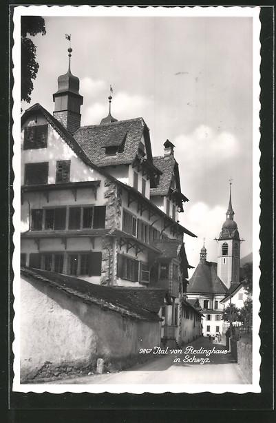 AK Schwyz, Ital von Redinghaus