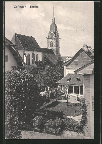 AK Zofingen, Blick zur Kirche
