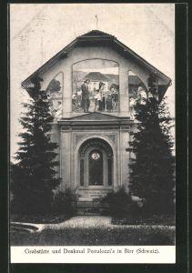 AK Birr, Grabstätte und Denkmal Pestalozzi's