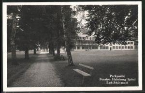 AK Bad Schinznach, Pension Habsburg Spital, Parkpartie